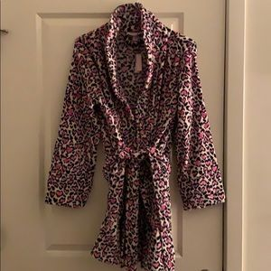 Victoria's Secret Short Fleece Robe